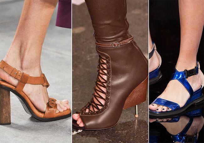 Spring/ Summer 2015 Shoe Trends: Leather Shoes