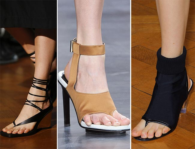 Spring/ Summer 2015 Shoe Trends: Thong Sandals