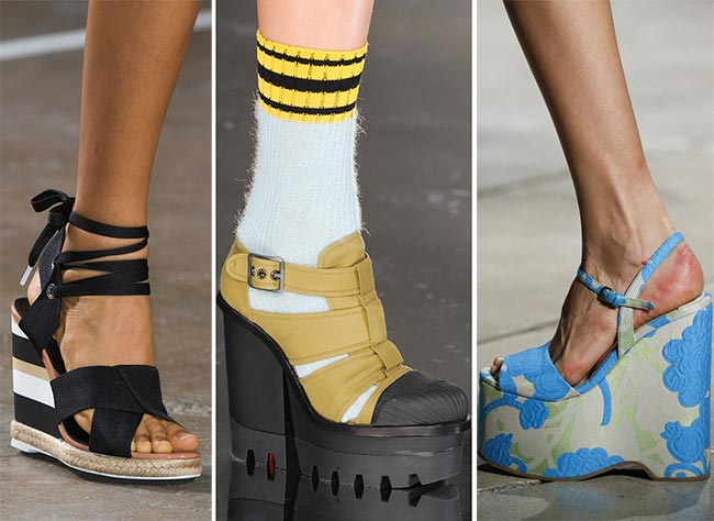 Spring/ Summer 2015 Shoe Trends: Wedges and Platform Shoes