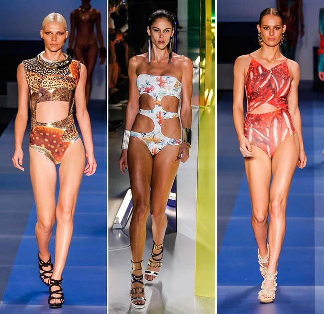 Spring/ Summer 2015 Swimwear Trends: Cut-Away Swimwear