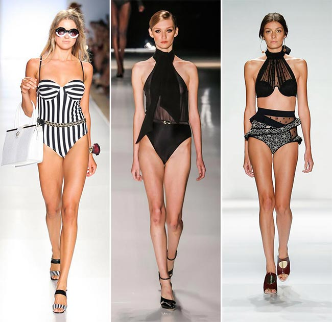 Spring/ Summer 2015 Swimwear Trends: Elegant Swimwear