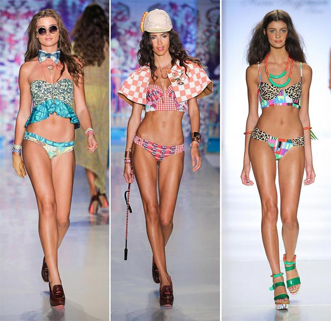 Spring/ Summer 2015 Swimwear Trends: Longline Bikini Tops