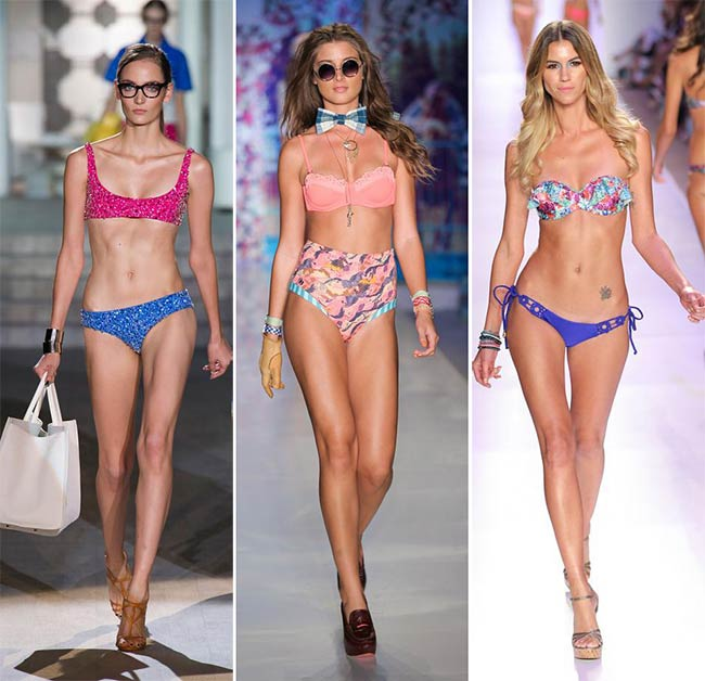 Spring/ Summer 2015 Swimwear Trends: Mismatched Bikinis