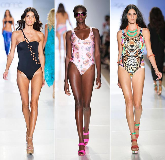 Spring/ Summer 2015 Swimwear Trends: One-Piece Swimwear