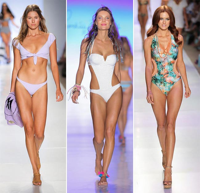 Spring/ Summer 2015 Swimwear Trends: Printed and Patterned Swimwear