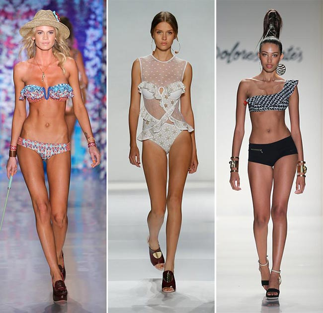 Spring/ Summer 2015 Swimwear Trends: Ruffled Swimwear