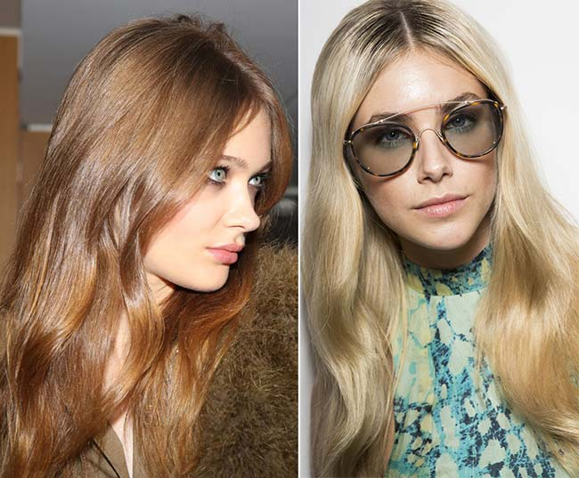 Spring/ Summer 2015 Wavy Hairstyles Taken from The Runway: '70s Waves