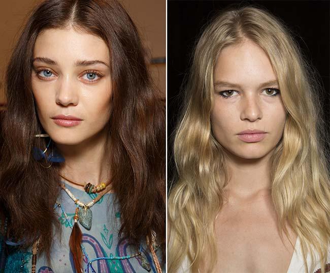 Spring/ Summer 2015 Wavy Hairstyles Taken from The Runway: Desert Waves
