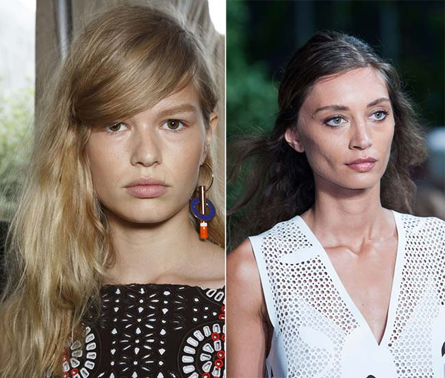 Spring/ Summer 2015 Wavy Hairstyles Taken from The Runway: Boho Waves