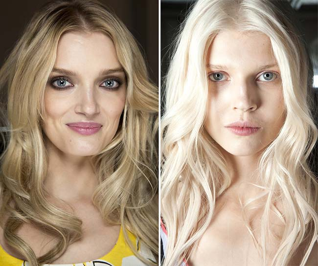 Spring/ Summer 2015 Wavy Hairstyles Taken from The Runway: Glam Waves