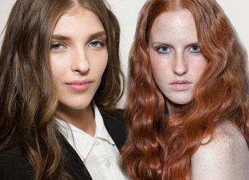 Spring/ Summer 2015 Wavy Hairstyles Taken from The Runway
