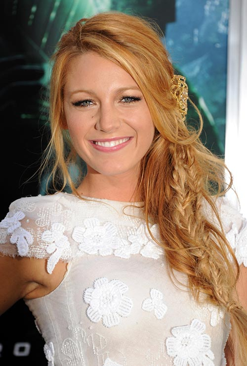 Strawberry Blonde Hair Colors: Blake Lively