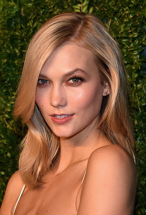 Strawberry Blonde Hair Colors: Karlie Kloss