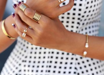 Trendy and Modern Ways to Wear Rings