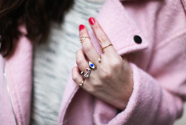 How to Wear Rings: Open Band Rings