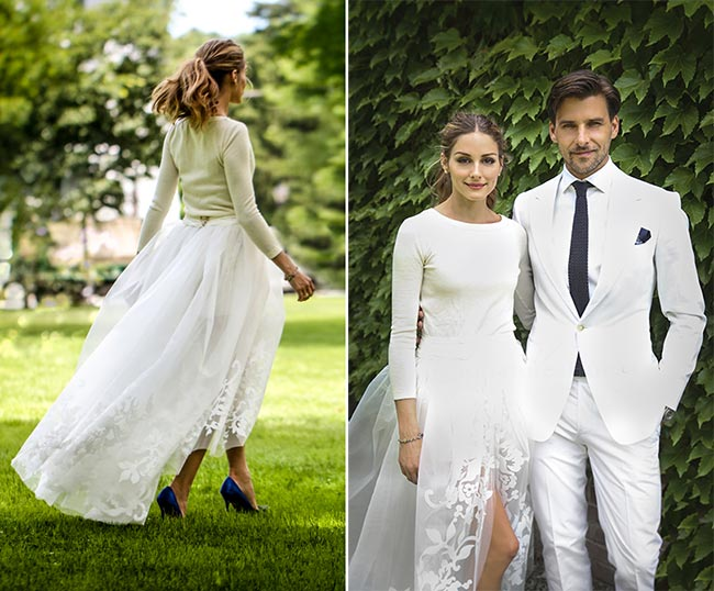 10 of the Most Unique Celebrity Wedding Dresses: Olivia Palermo