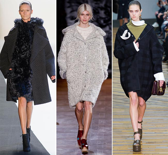 Winter 2014-2015 Trendy Oversized Coats