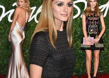 British Fashion Awards 2014 Red Carpet Fashion