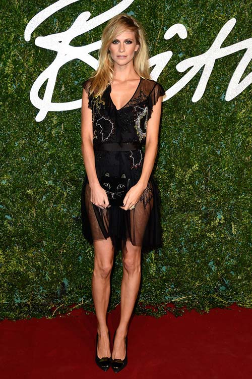 British Fashion Awards 2014 Red Carpet Fashion: Poppy Delevingne