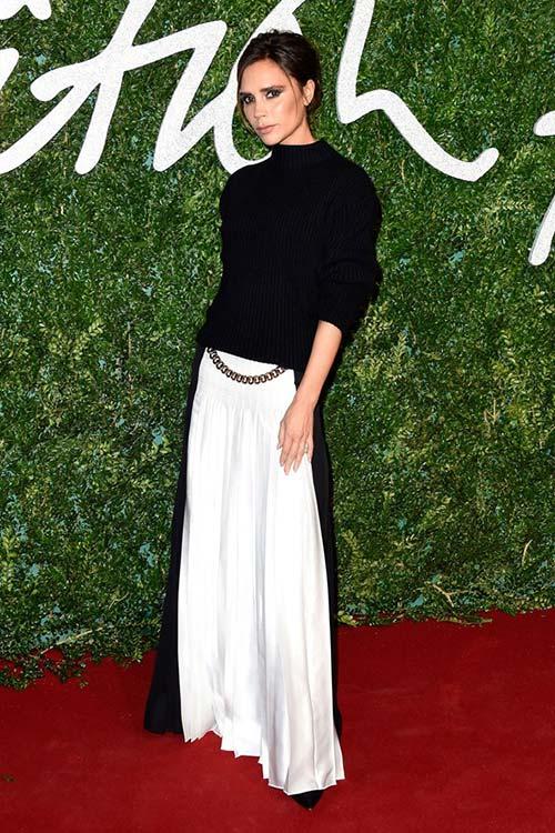 British Fashion Awards 2014 Red Carpet Fashion: Victoria Beckham