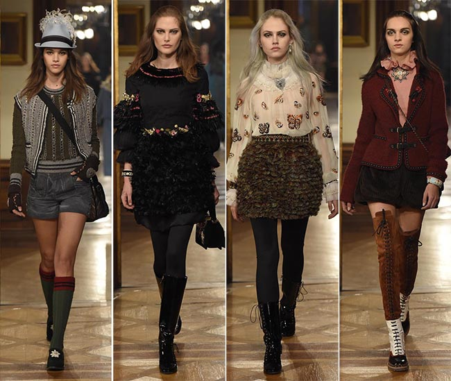 Chanel Metiers D'arts Pre-Fall 2015 Collection