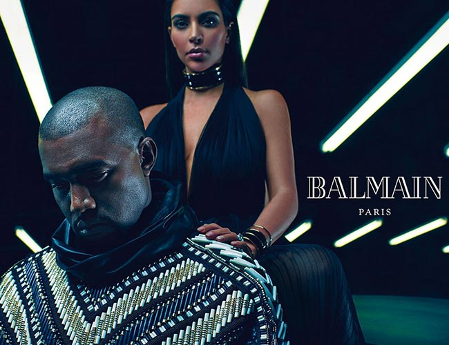 Kimye for Balmain Spring 2015 Campaign