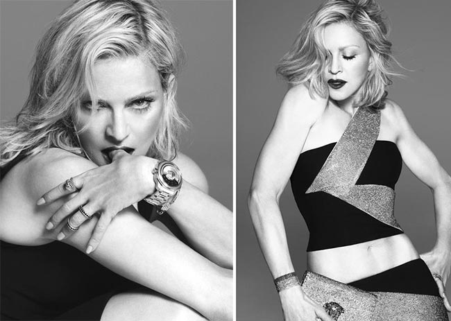 Madonna for Versace Spring 2015 Campaign