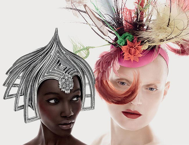 Philip Treacy for MAC 2015 Makeup