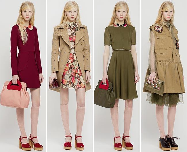 RED Valentino Pre-Fall 2015 Collection