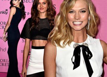 Victoria's Secret Fashion Show 2014-2015 Pink Carpet Fashion