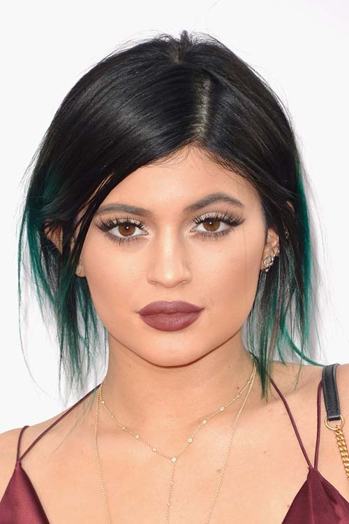 Pretty Holiday Hairstyles to Meet 2015 In Style: Ombre Hair - Kylie Jenner
