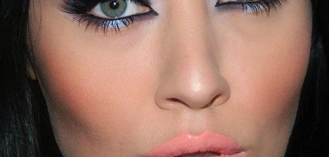 Purple Smokey Eye Makeup Tutorial for Holidays