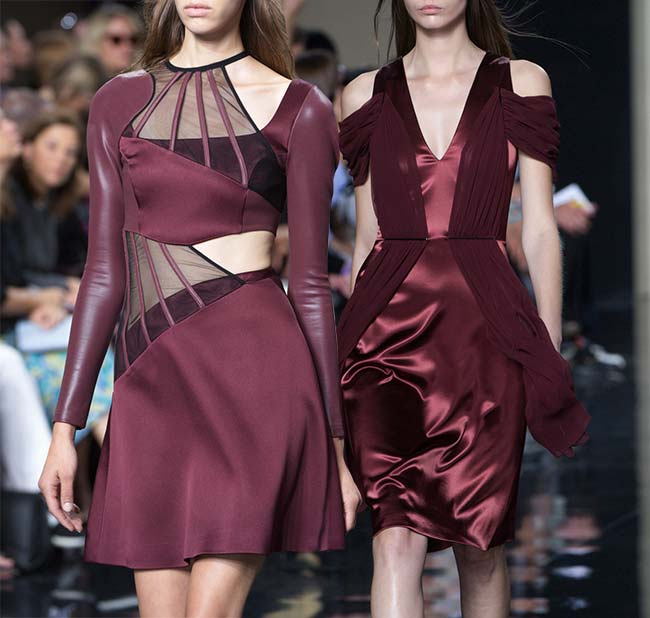 Spring 2015 Runway Inspired Holiday Party Outfit Ideas: Christopher Kane