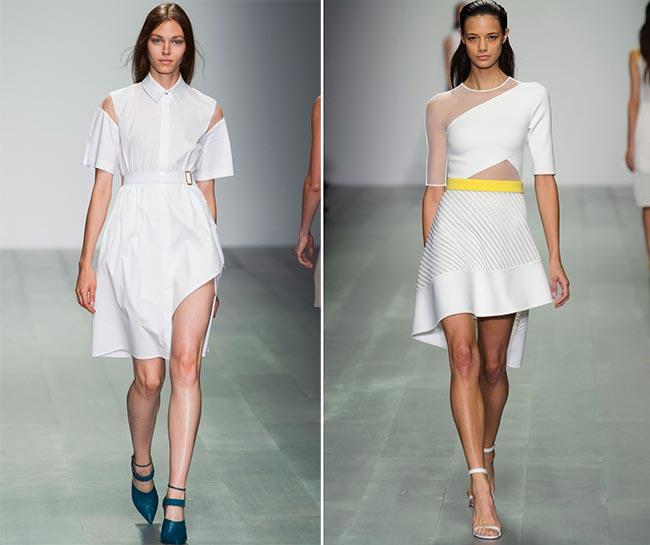 Spring 2015 Asymmetrical Dress Trend