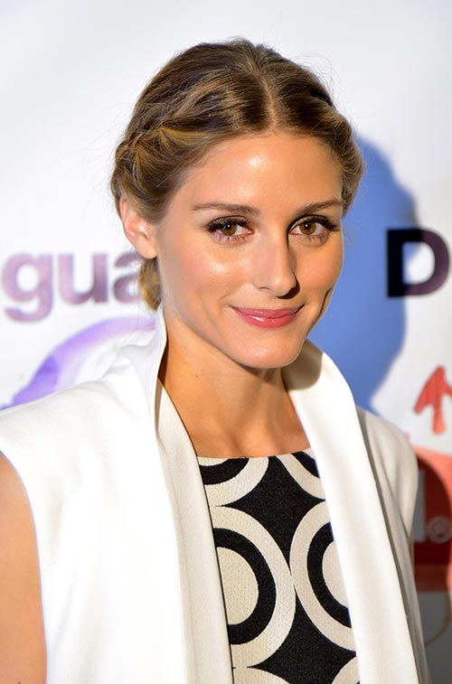 Casual At-Home Hairstyles from Celebs: Olivia Palermo
