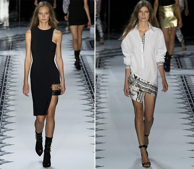 Ways of Wearing Spring 2015 Asymmetrical Hems Trend