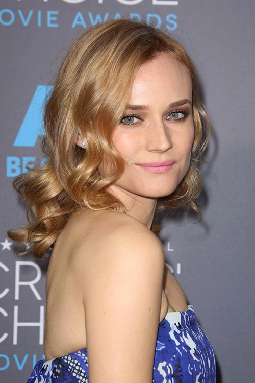 Critics' Choice Awards 2015 Best Hairstyles and Makeup Looks: Dianne Kruger