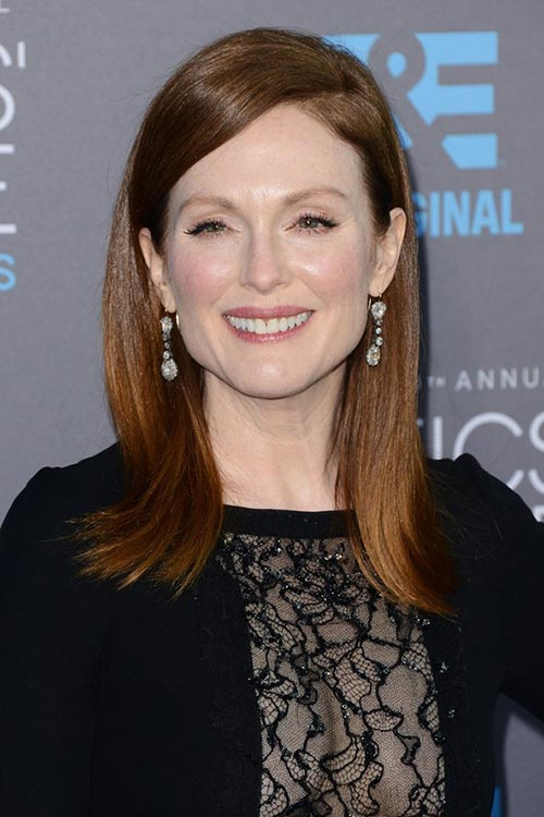 Critics' Choice Awards 2015 Best Hairstyles and Makeup Looks: Julianne Moore