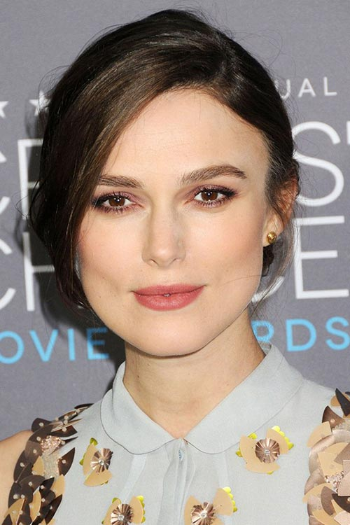 Critics' Choice Awards 2015 Best Hairstyles and Makeup Looks: Keira Knightley
