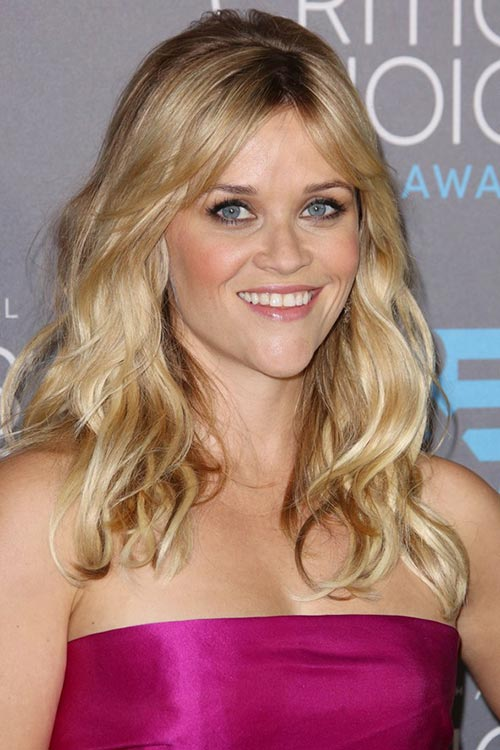 Critics' Choice Awards 2015 Best Hairstyles and Makeup Looks: Reese Witherspoon