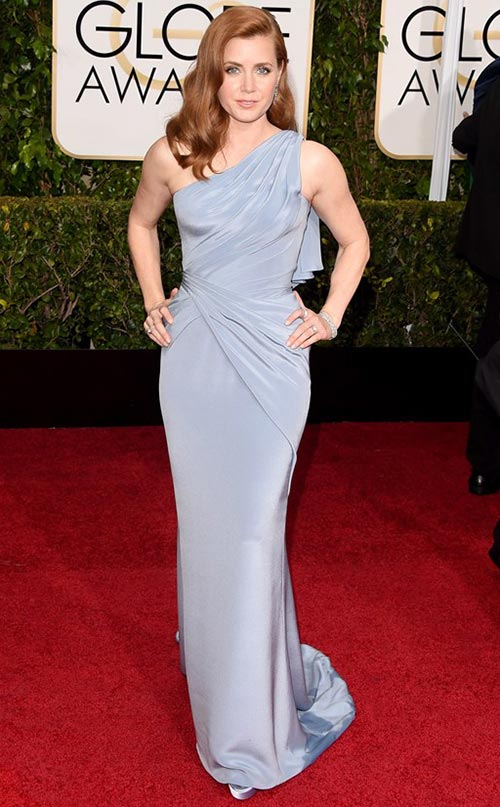 Amy Adams at Golden Globes 2015