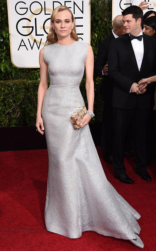 Diane Kruger at Golden Globes 2015