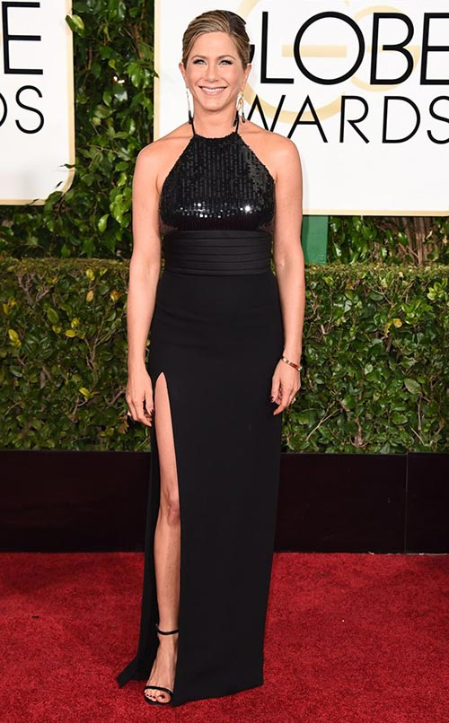 Jennifer Aniston at Golden Globes 2015
