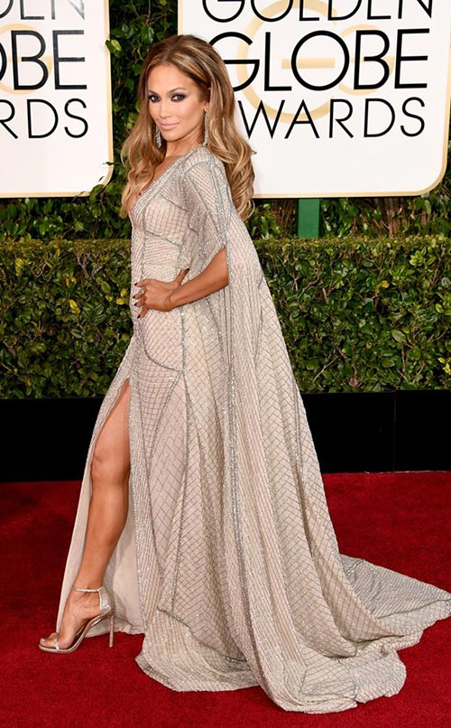 Jennifer Lopez at Golden Globes 2015