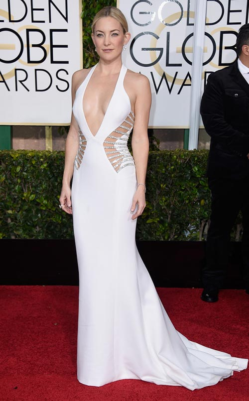 Kate Hudson at Golden Globes 2015