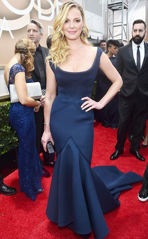 Katherine Heigl at Golden Globes 2015