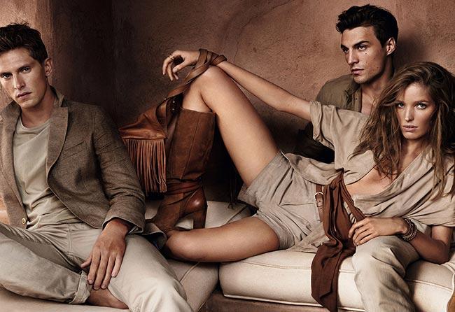 Massimo Dutti Spring/Summer 2015 Campaign