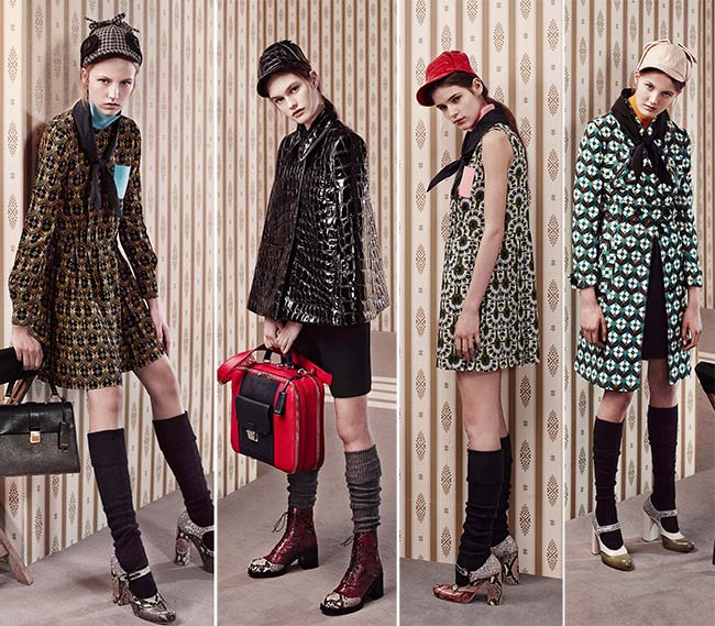 Miu Miu Pre-Fall 2015 Collection