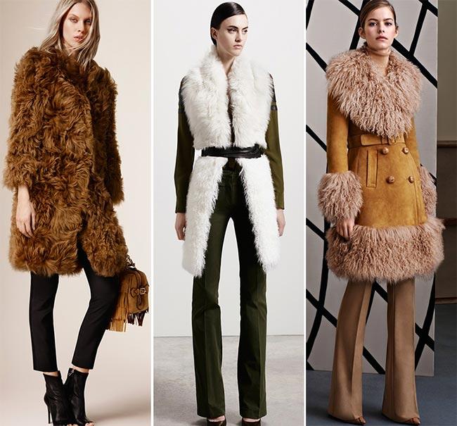 Pre-Fall 2015 Fashion Trends: Mongolian Lambskin