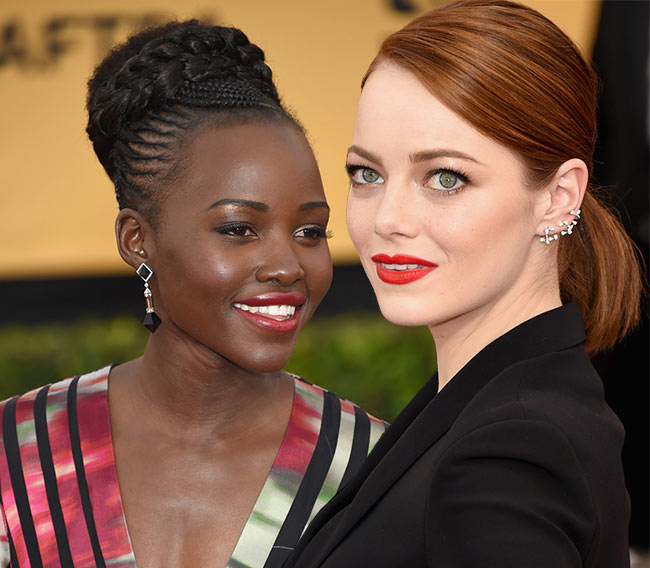 SAG Awards 2015 Hairstyles and Makeup